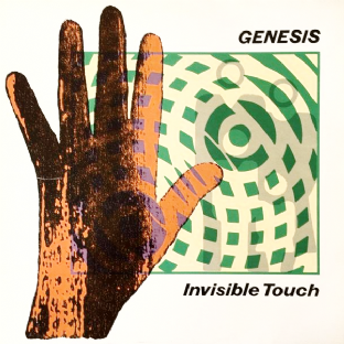 Genesis - Invisible Touch (LP) (VG-/VG-)